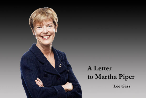 A Letter to Martha Piper
