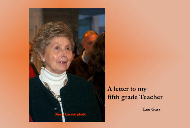 A letter to my fifth grade teacher